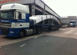 Delivery of Heavy Building Products and Steel by SLD Transport Ltd