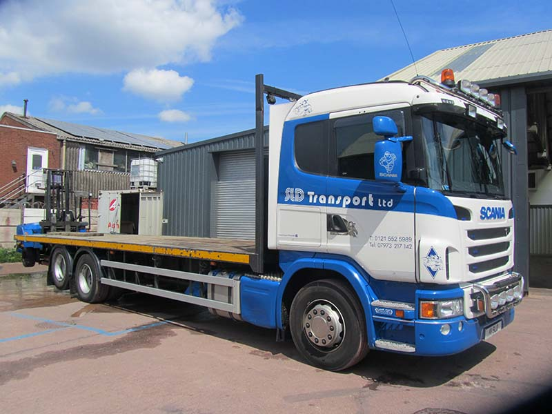 SLD Transport Ltd Heavy Haulage and Transport Vehicle