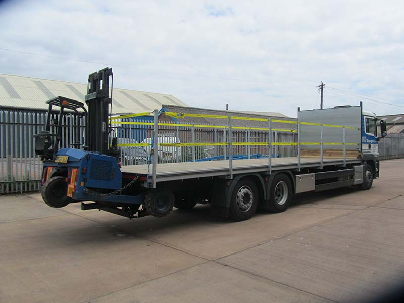 SLD Transport Ltd provide a range of Vehicles and Trailers for quick and Easy Transport of Goods