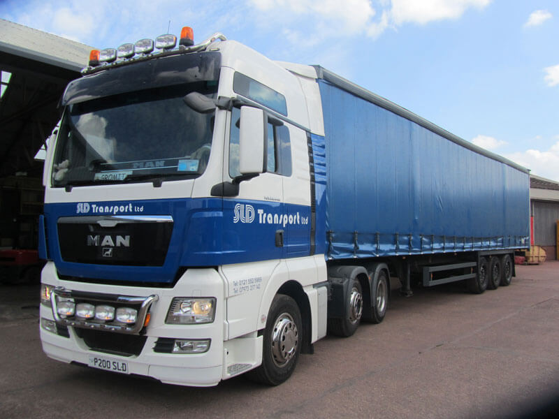 SLD Transport Ltd provide a range of vehicles, trailers and equipment for your goods' transport